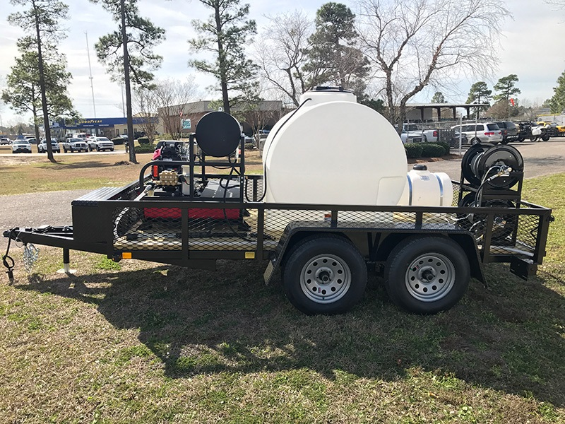 Power Washer Trailer Mounted Mobile Pressure Wash System