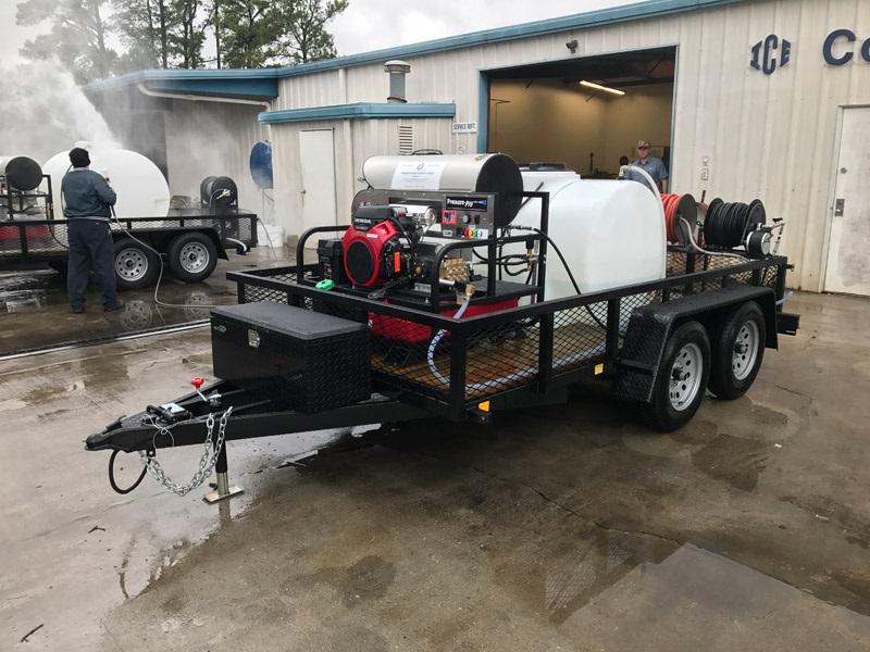 Trailer Mounted Pressure Washer
